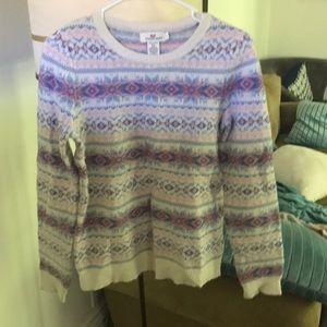 Vineyard Vines Crew neck fair isle sweater sz s